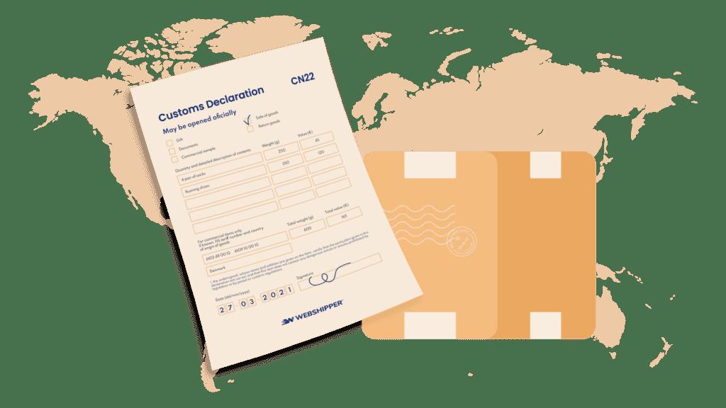 Customs decleration